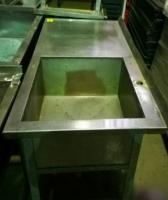 Ванна моечная с рабочей поверхностью 1200х600x850 БУ