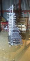 Прикассовая зона, стеллаж для жвачек, 1850*1400*680 БУ