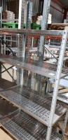 Стеллаж металлический производственный 1100*600*1800 мм БУ