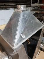 Зонт вытяжной из оцинкованной стали 1000*500 мм БУ