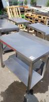 Стол производственный PROFI 1000*600 борт БУ